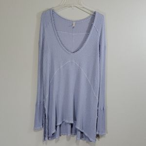 Free People M Lilac Sunset Park drippy thermal
